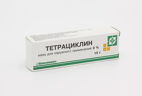 Тетрациклиновая 3% мазь д/наруж прим15г