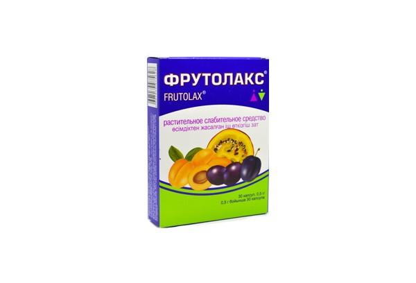 Фрутолакс капс 30 БАД