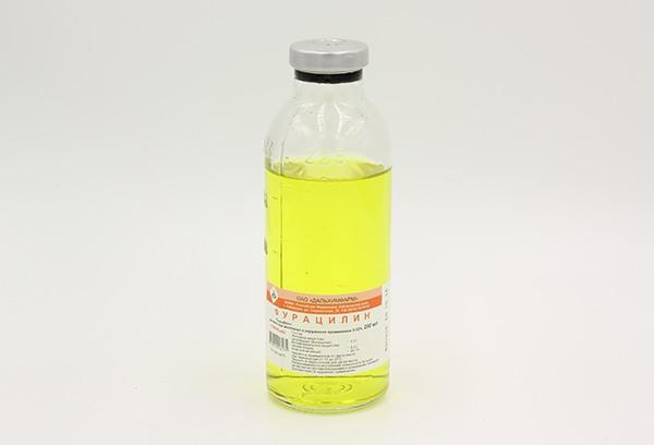 Фурацилин 0,02% р-р д/местн и наружн прим 200мл