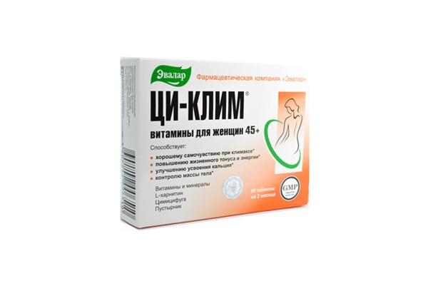 Ци-Клим витамины для женщин 45+ тбл 60 БАД