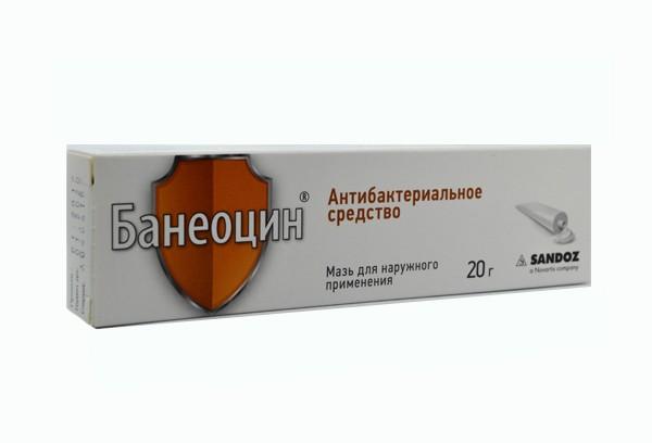 Банеоцин мазь д/наруж прим 20г