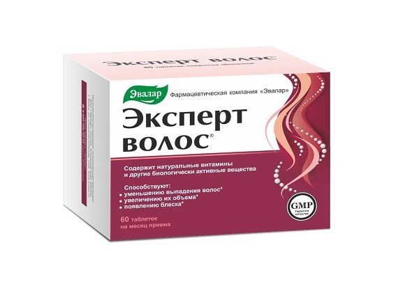 Эксперт волос тбл 60 БАД
