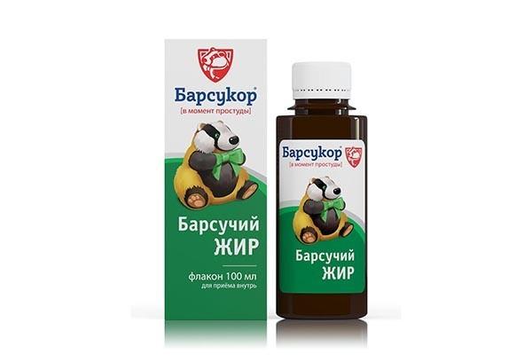 Барсукор (барсучий жир) 100мл БАД
